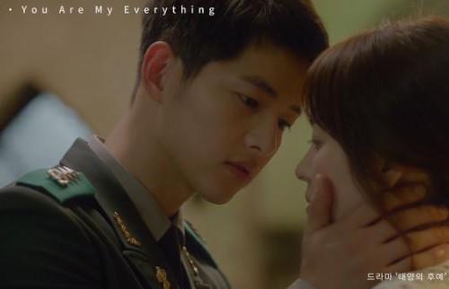 韓国ドラマ「太陽の末裔」 OST 「You Are My Everything」歌詞日本語訳