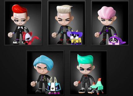 BIGBANGのフィギュアプロジェクト「GO Blings」について調べてみた