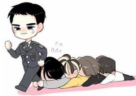 【BIGBANGインスタ和訳】TOPの脚にすがるメンバーのイラスト etc