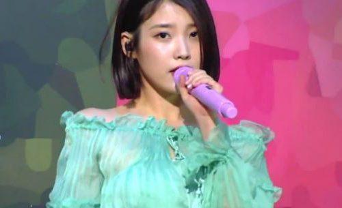 IUが人気歌謡で新曲「Palette(パレット)」を初披露